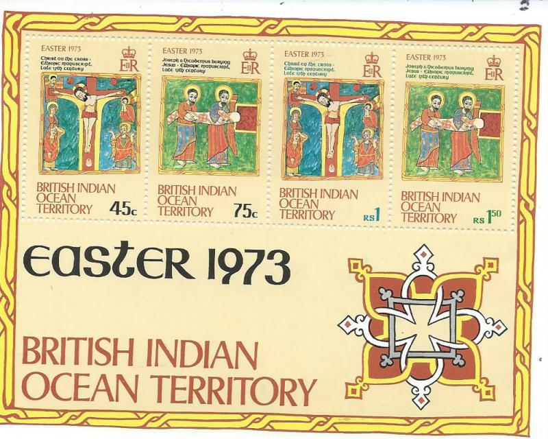 British Indian Ocean Territory #53a Easter S/S (MNH) CV$2.40