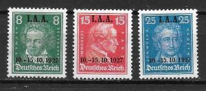 Germany 363-65 ILO Meeting set Unused LH