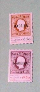 Portugal Madeira - 66-67, Plus 66-67a (S/S), MNH Set. SCV - $4.85
