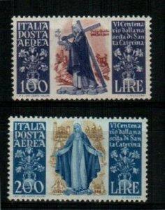 Italy Scott C127-8 Mint hinged [TE293]