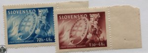 SLOVENIA  B25-26   MNH