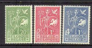 Belgium #B544 - #B546 VF Mint
