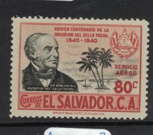 El Salvador Rowland Hill SC C70 MNH (7dvy)