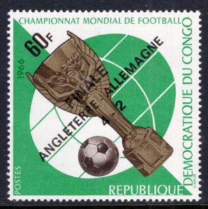 Congo Democratic Republic 590B Soccer MNH VF