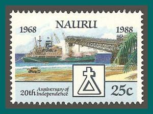 Nauru 1988 Independence, Ship, MNH 343,SG358