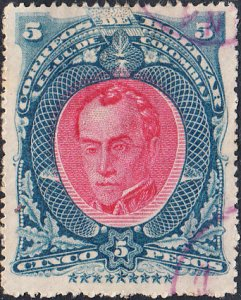 Columbia Bolivar #35  Used   P16