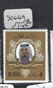 QATAR  (PP2306B)  SHEIKH  5R  SG  669   MNH