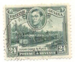 BRITISH GUIANA #234a Used, Scott $12.50