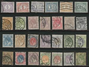 Netherlands Scott 55-82 complete Queen Wilhelmina set CV$35