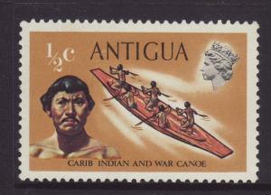 1970 Antigua ½c Wmk 12 sws Mint
