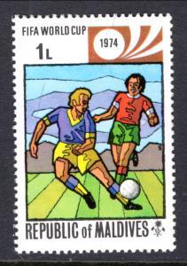 Maldive Islands 516 Soccer MNH VF