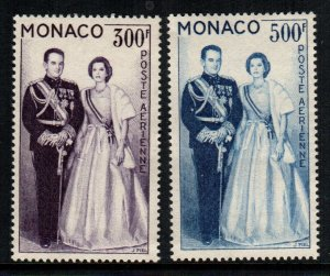 Monaco  c53 - c54   MNH $ 22.00