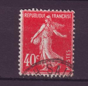 J9579 JL stamps 1906-37 france used #178 no ground