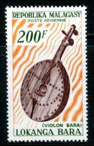 Malagasy Republic C80 airmail music violin MNH mint      (Inv 001288.)