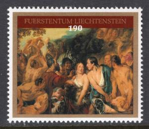 Liechtenstein 1865 Painting MNH VF
