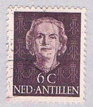 Netherlands Antilles 214 Used Queen Juliana 1950 (BP33316)