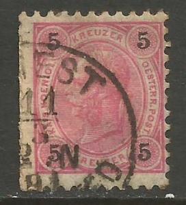 AUSTRIA 54 VFU W057-3