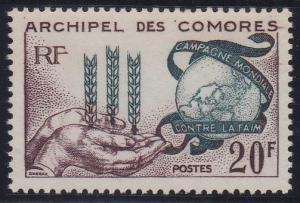 Comoro Islands 54 MNH (1963)