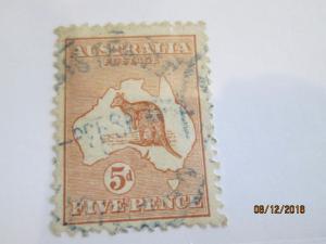 Australia #7 used