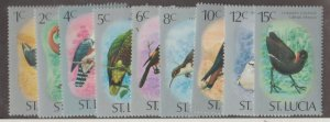 St. Lucia Scott #387-395 Stamps - Mint NH Set