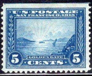 US Stamp Scott # 399 Mint Hinged SCV $65. Nice centering.