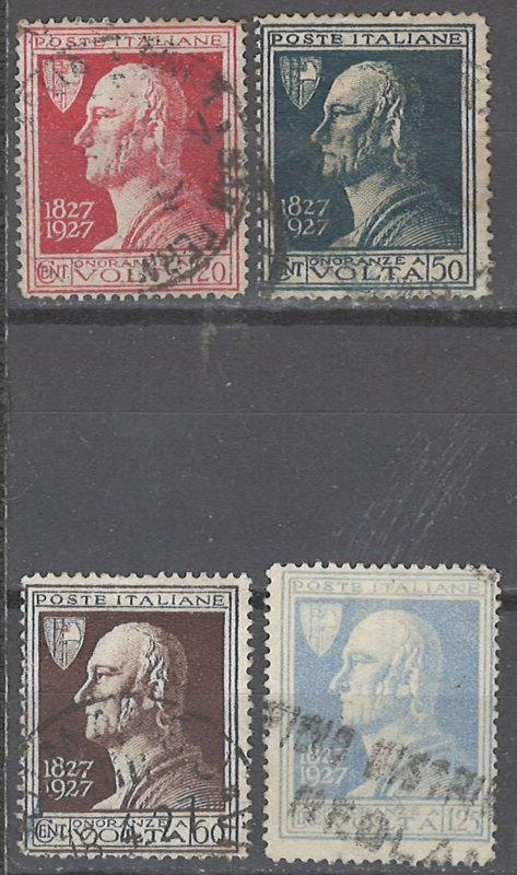 COLLECTION LOT # 2428 ITALY #188-91 1927 CV+$13