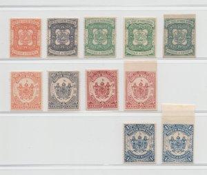 Malaya North Borneo - 1887-92 - Color Trials - MH #V
