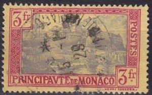 Monaco #90   F-VF Used  CV $12.00  (V4617)