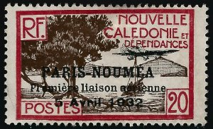 New Caledonia Paris Noumea #188 Mint F-VF ....French Colonies are Hot!
