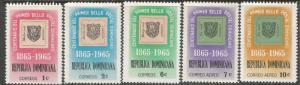 DOMINICAN REPUBLIC 615-7 C142-3 MOG C268-2