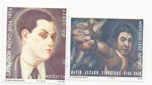 Mexico #C462-63, MNH