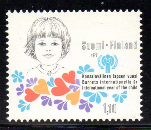 Finland Sc 614 1979 Internatiobal Year of the Child stamp NH