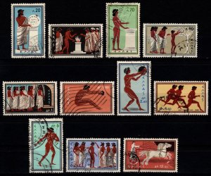 Greece 1960 Olympic Games, Set [Used]