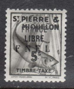 St Pierre & Miquelon #J58 VF Mint