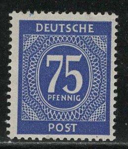 Germany AM Post Scott # 553, mint hr