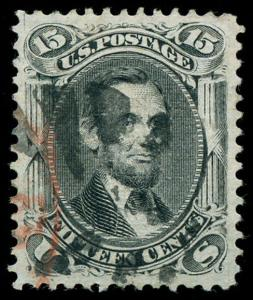 momen: US Stamps #91 Used XF-SUP App.
