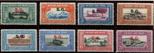Sudan SC#63-78 SG# 81-95 Sudan Landscape set (15 issues) MH