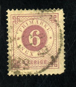 SWEDEN #44 USED FVF Cat $63