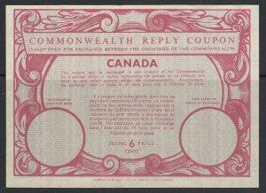 Kanada, 6 Cents Commonwealth Antwort Gutschein, Ungebraucht