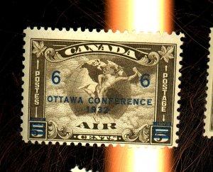 Canada #C4 MINT FVF OG NH Cat $70