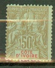 B: Ivory Coast 15 mint CV $40