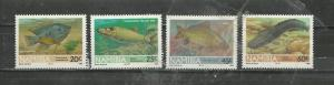 Namibia #710-713 Unused Hinged