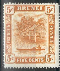 Brunei 23 SG 49 MLH F/VF 1916 SCV $26.00