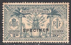 NEW HEBRIDES-FRENCH SCOTT 46