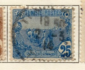 Tunis 1906 Early Issue Fine Used 25c. NW-114596