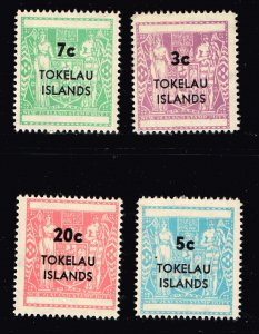 Tokelau Islands COAT OF ARMS TYPE REVENUE MNH/OG STAMPS LOT