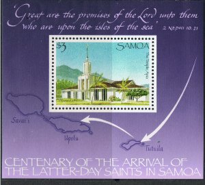 SAMOA 1988 ARRIVAL OF THE LATTER-DAY SAINTS