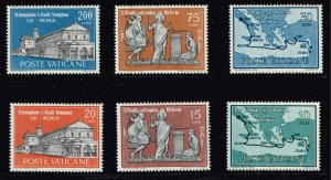 ITALY STAMP VATICAN MNH STAMP COLLECTION LOT #T1
