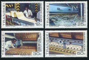 SA-Transkei 163-166,MNH.Michel 172-175. Match Industry,1985.