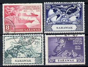 Sarawak 1949 KG6 75th Anniversary of Universal Postal Uni...